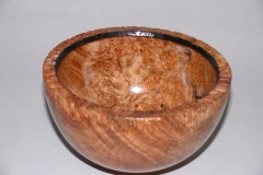 14.1 Bowl Three legged Maple 7x4 SOLD