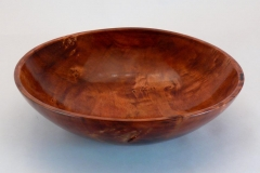 "21.1 Bowl Dyed Maple 9""x2"""