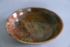 3.1 Bowl Dyed Maple 10x2.5 SOLD