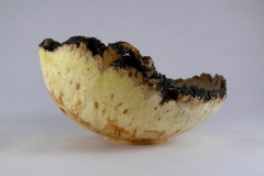 SOLD 58.1 Bowl Natural Edge Box Elder 8x4