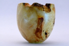 "16.1 Hollow Form Box Elder 5""x5"" SOLD"
