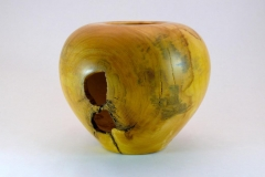 "1.1 Hollow Form Maple 7""x6"""