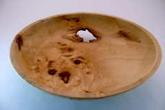 "37.1 Bowl Natural Maple 10""x2.5"" SOLD"