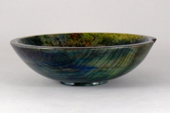 """53.1 Bowl Dyed Maple 8""""x2.5"""""""