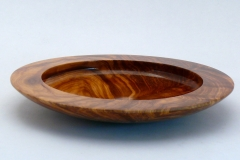 "14.1 Platter Red Cedar Burl 9.5""x1.5"" SOLD"