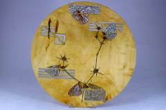 "15.1 Platter Box Elder 12""x12"" SOLD"