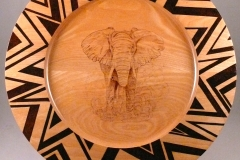 "7.1 Platter Rhodesia Maple 16""x1"""