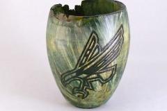 """10.1 Vase Box Elder 7""""x5"""""""